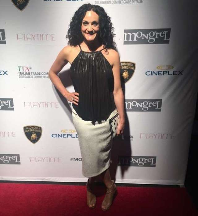 stefania indelicato red carpet