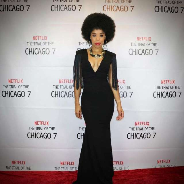 tiffany denise hobbs red carpet