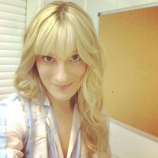claire tyers blonde hair