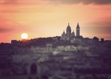 Montmartre Sunset - Fine Art Photography (8 x 12 print)