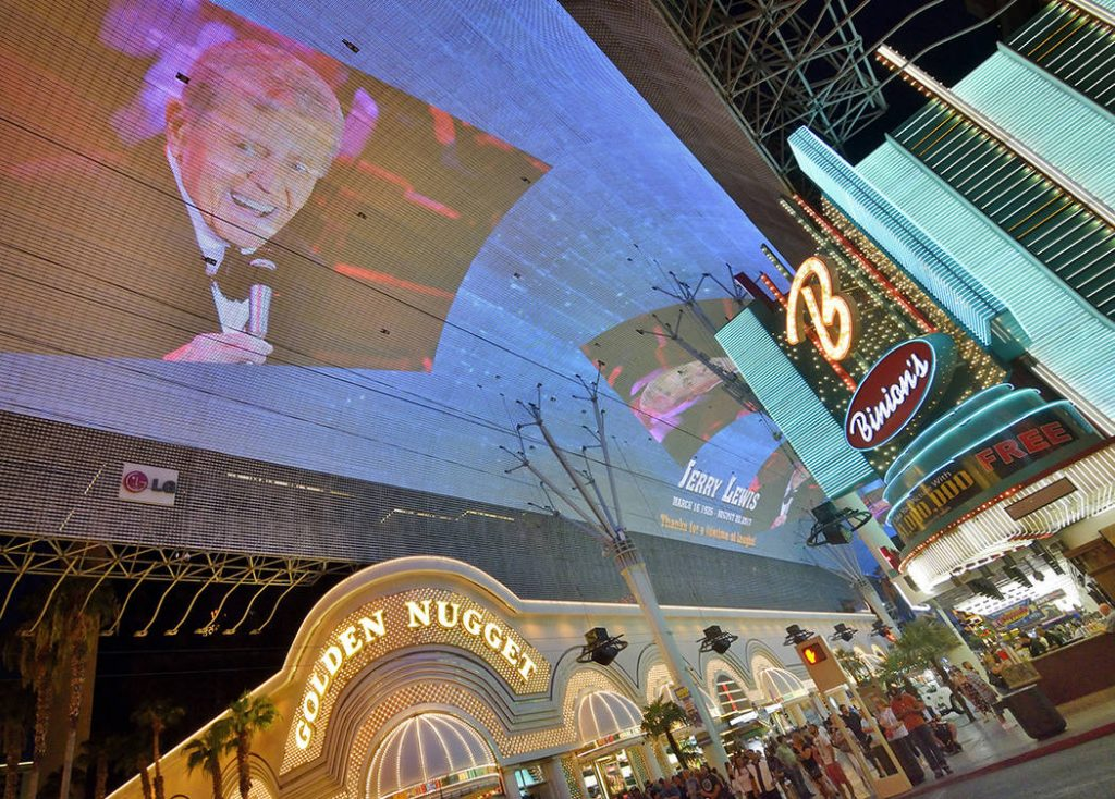 Fremont Street Experience Light Show Due For A Flashy Overhaul