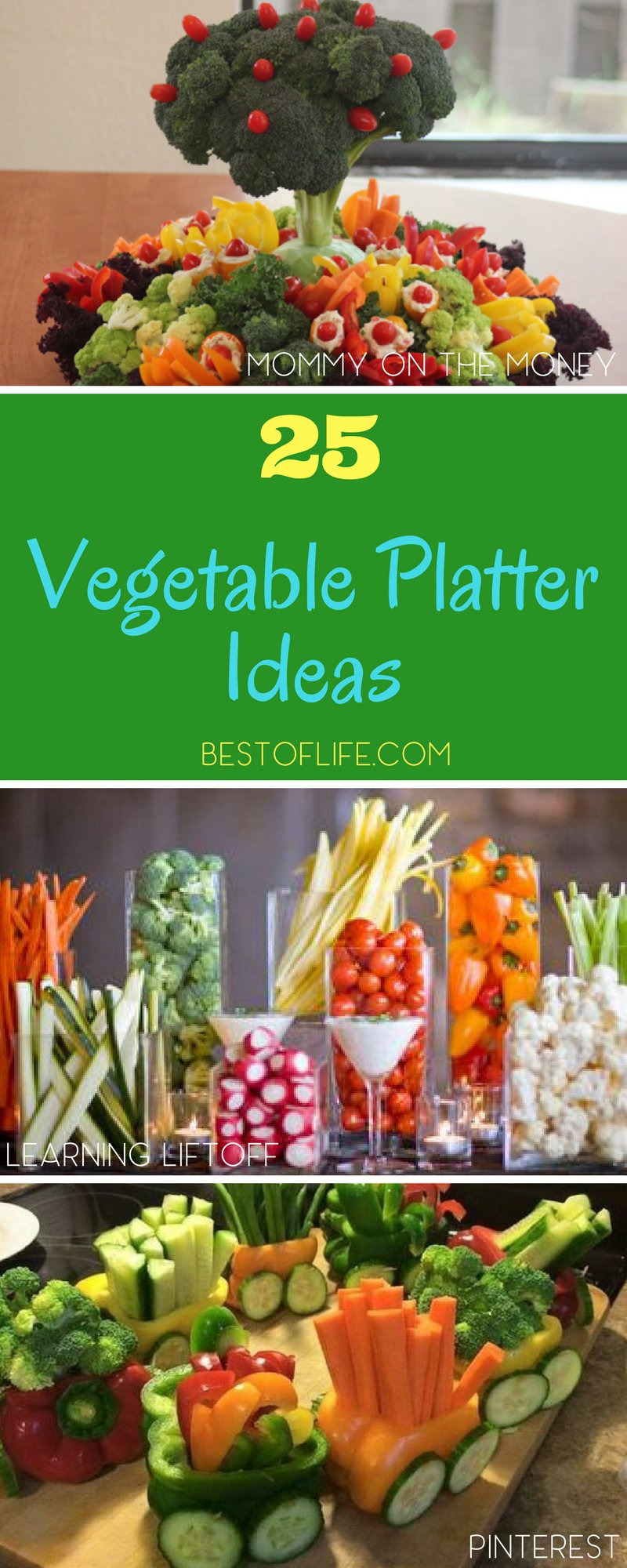 25 vegetable platter ideas for parties