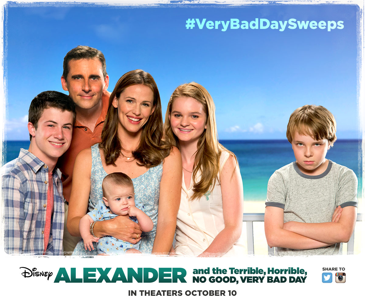 8 Alexander And The Terrible Horrible No Good Very Bad Day