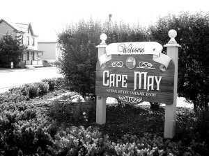 NJ Haunted Halloween-CapeMay NJ Sign
