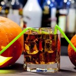 Jack O' Lantern on the Halloween party