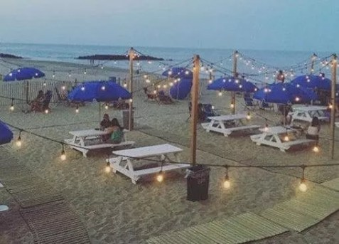 Jersey Shore Bars by the Beach