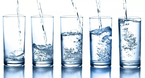 water, glasses of water, eight glasses