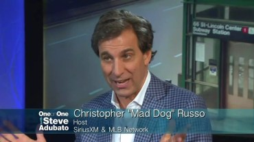 Chris Mad Dog Russo Talks Sirius XM and MLB Network