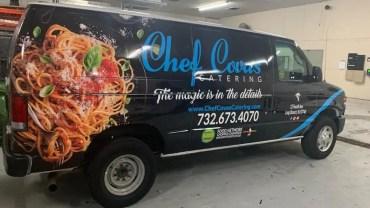 Chef Covas Catering Van