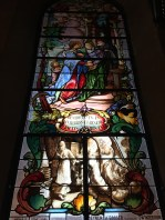 church window chapel of grace mariastein