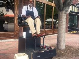 durham nc shoeshiner five points shoeshine