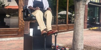 durham nc shoeshiner five points shoeshine