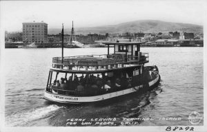 Terminal Island Ferry (Photo Courtesy: Pomona Public Library)
