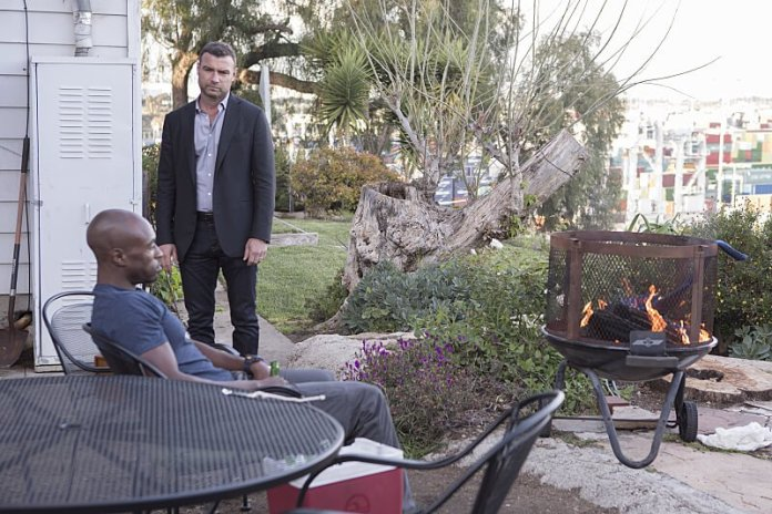 Ray Donovan - with Port of LA in the background