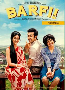 Barfi movie poster