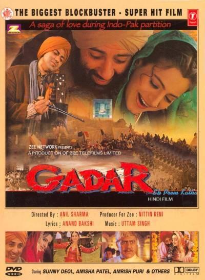 Gadar – Ek Prem Katha movie poster