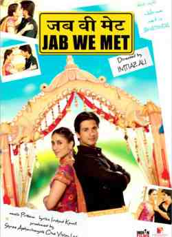 Jab We Met movie poster