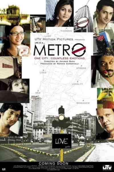 लाइफ इन मेट्रो movie poster