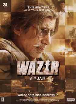 वज़ीर movie poster