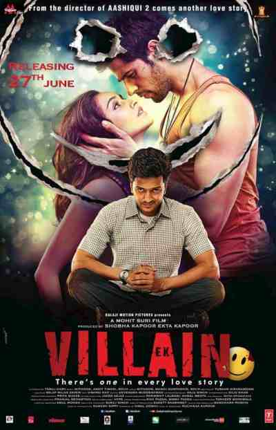 Ek Villain movie poster