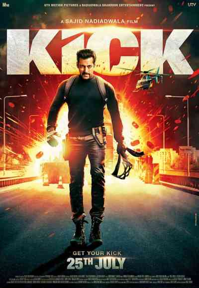 किक movie poster