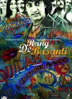Rang De Basanti movie poster