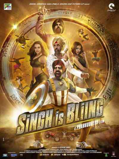 Singh is Bliing movie poster