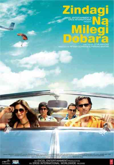 Zindagi Na Milegi Dobara movie poster