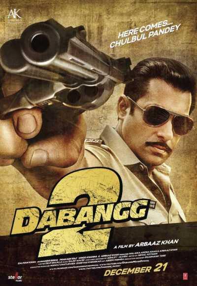 दबंग 2 movie poster
