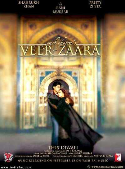 Veer Zaara movie poster