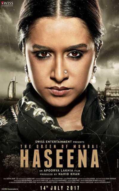Haseena Parkar movie poster