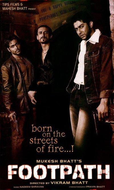फुटपाथ movie poster