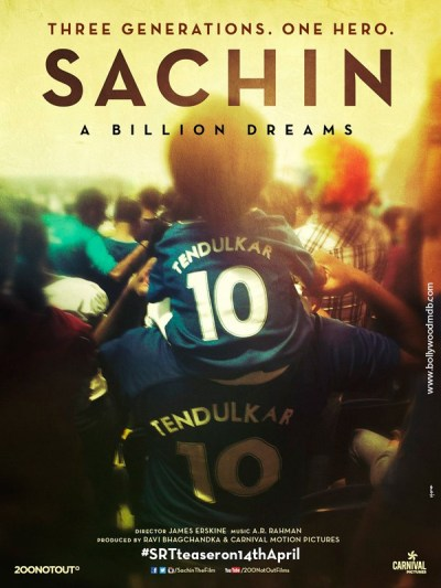 सचिन- अ बिलियन ड्रीम्स movie poster