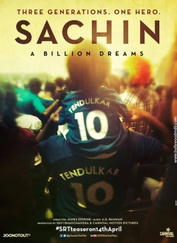 Sachin – A Billion Dreams movie poster
