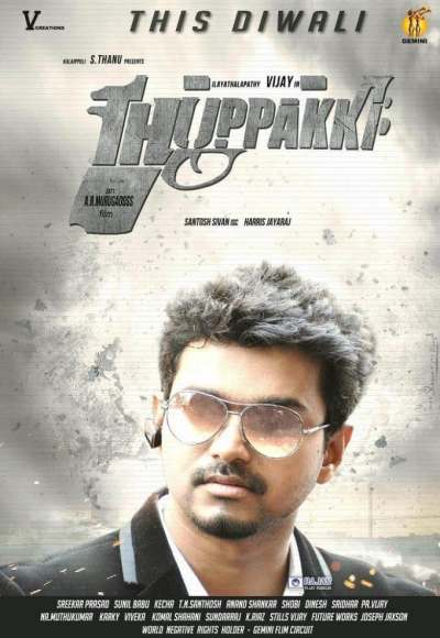 Thuppakki movie poster
