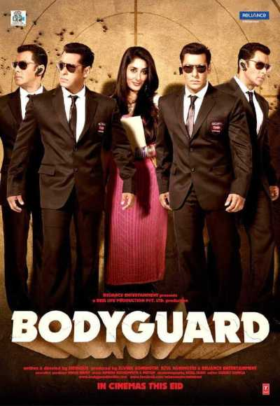 Bodyguard movie poster