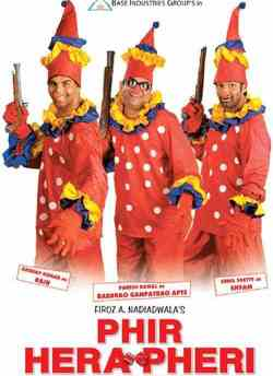 Phir Hera Pheri movie poster