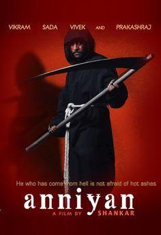 Anniyan movie poster