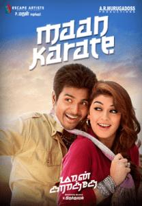 Maan Karate Poster
