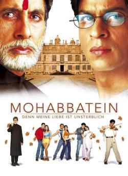 Mohabbatein movie poster