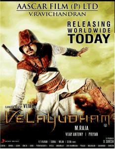 Velayudham Poster
