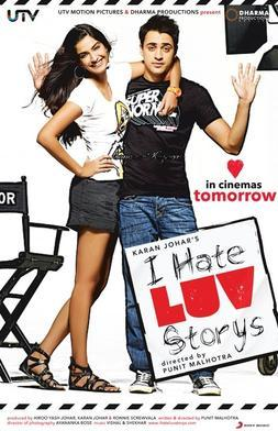 I Hate Luv Storys movie poster