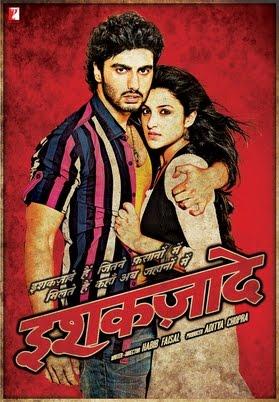 इश्कज़ादे movie poster