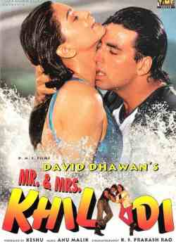 Mr. & Mrs. Khiladi movie poster
