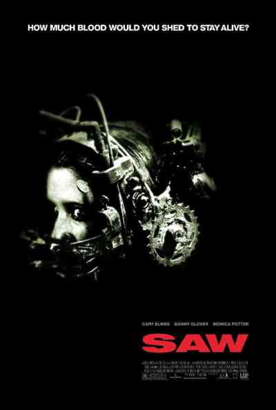 Saw movie poster