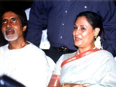 Amitabh Bachchan and Jaya Bachchan together