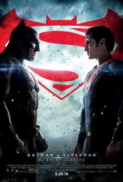 Batman v Superman: Dawn of Justice movie poster