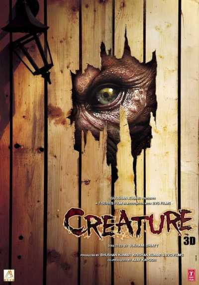 Creature 3D movie poster