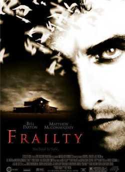 Frailty movie poster