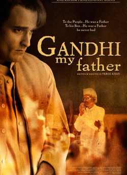 Gandhi My Father movie poster